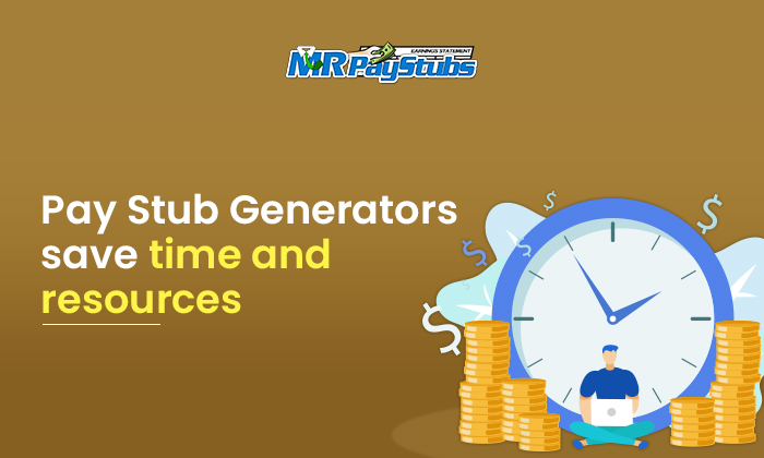 pay stub generators save time resources